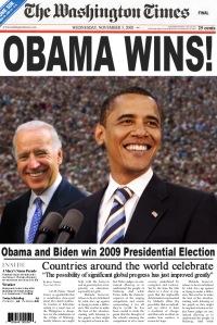 ObamaWinsNewpaper
